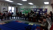 Whoo hoo!  A whole class photo!