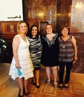 Con Marta y Sara Reina