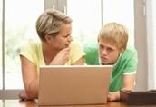 step one for avoiding cyber bullying