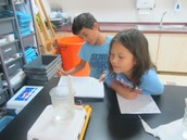 Reading thermometers in the lab