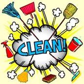 FAIRGROUNDS CLEAN-UP