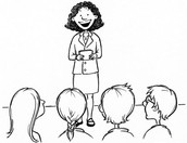 Sharing the role of speaking and listening
