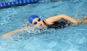 i love to swim!