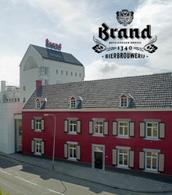 Brand bier brouwerij