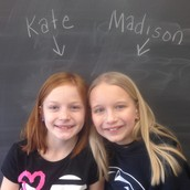 Fourth Grade Editors: Kate  and Madison