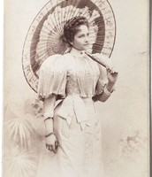 Here's Queen Victoria with an Umbrella