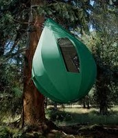 khemah labu gantung atas pokok