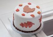 Gobble Gobble Turkey Cake!