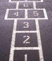 You Could Play Hopscotch With Your Friends !!