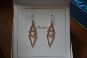 Pave Spear Earrings - SOLD