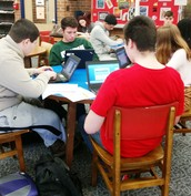 Mrs. MacDonald's cooks researching nutrients