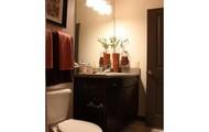 Spacious Bathrooms and Garden Tubs!