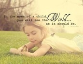 Look for the wonder in your children!