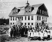 What was a residential school?