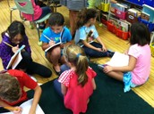 Interviewing our 2nd-Grade Buddies!