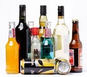 DIFFERENT ALCOHOLS