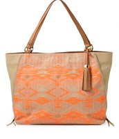 The Switch Tote-Aztec Coral