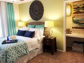 Perfect Sized Bedrooms