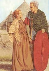 Clothing: Just simple old clothes for example just some old white dresses and some rags. you will be aloud to wear a brimmed hat on hot days and some sandles or boots.