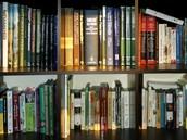 Bookshelfs full of books