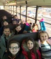 Practicing bus expectations!