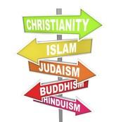 Do you know the major religions?