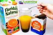 Orange Juice Experiment