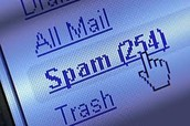 Most email accounts have their own spam folder.