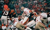Super Bowl 16, The San Fransisco 49ers vs The Cincinnati Bengals