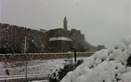 Brrrr!!!!!!!!! As Jerusalem having a snowy day.