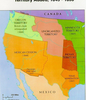 1848 Mexican cession-