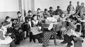 How was the Church involved in the opening of residential schools?