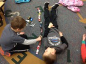 Measuring  with cars