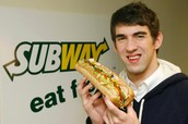 Celebrities eat Subway to lose weight