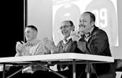 Eric Devine, Joseph Bruchac, & Jay Asher