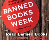 Banned Books Week is September 21-27!