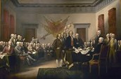 Signing of the Declaration of Independence!