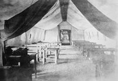 Hospital Tent in 1918