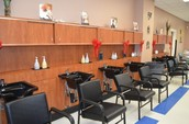 Our salon is 100% professional but half the price!