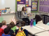 Author's Chair in 1st Grade