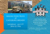 Balkan Food Truck - July 9th