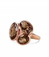 Trilogy Ring - Rose Gold - Fits 5-9