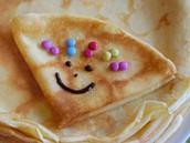 Pannenkoeken eten op de pannenkoekenboot!