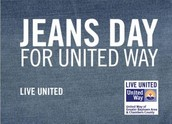 $15 Dollar Jeans Day for UNited Way