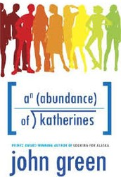 Do you like books about adventure? If you do then you should read An Abundance Of Katherines by John Green