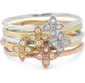 Moraley Stackable Rings Size 8