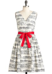 In the Key of Chic Dress
