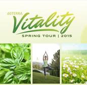 doTERRA 2015 VITALITY Spring Tour