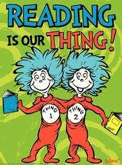 """""""You're never too old, too wacky, too wild, to pick up a book and read to a child!"""" --Dr. Seuss"""
