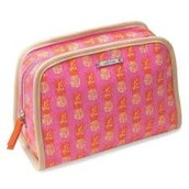 BEAUTY BAG - PINK PINEAPPLE $16  (55% off)